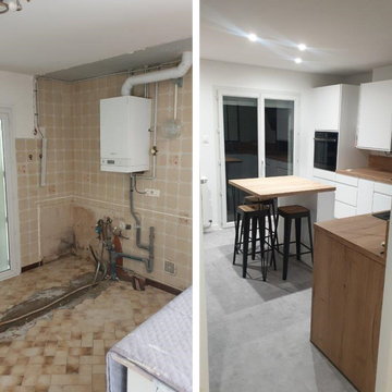 Rénovation de maison à Tournefeuille